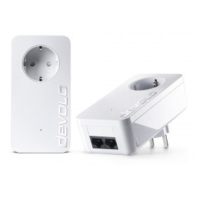 DEVOLO Powerline dLan 550 duo+ 09303 Starter KIT, 2x adapters, 500Mbps- DEVOLO