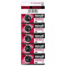 MAXELL μπαταρία κουμπί 3v, CR-2032 - 5ΤΕΜ- MAXELL - E-CR2032M