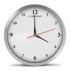 ESPERANZA Ρολόι τοίχου Detroit EHC009W, 30cm, ασημί- ESPERANZA