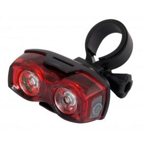 ESPERANZA Οπίσθιος φωτισμός ποδηλάτου Arktur EOT013, 2 LED, μαύρο- ESPERANZA