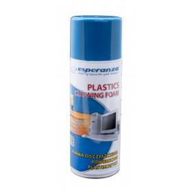 ESPERANZA Αφρός καθαρισμού ES104 για πλαστικές επιφάνειες, 400ml- ESPERANZA