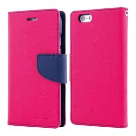 MERCURY Θήκη Fancy Diary για Huawei P10, Hot Pink/Navy- MERCURY