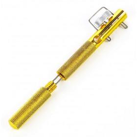 POWERTECH εργαλείο πλεξίματος γάντζου ψαρέματος FISH-0015, χρυσό- POWERTECH