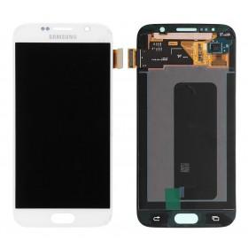 SAMSUNG LCD Screen για Galaxy S6 SM-G920F, White- SAMSUNG