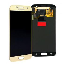 SAMSUNG LCD Screen για Galaxy S7 SM-G930F, Gold- SAMSUNG