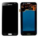 SAMSUNG Original LCD & Touch Panel για Galaxy J3 2016 J320F, Black- SAMSUNG