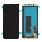 SAMSUNG Original LCD & Touch Panel για Galaxy J6 SM-J600F, Black- SAMSUNG