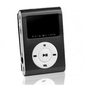 SETTY MP3 Player LCD, Earphones, Black- SETTY
