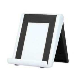 Βάση Smartphone με ενσωματωμένο καθαριστικό οθόνης, White- BULK
