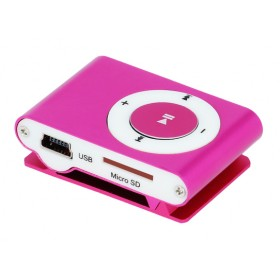 SETTY MP3 Player, Earphones, Pink- SETTY