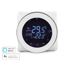 Έξυπνος Θερμοστάτης Καλοριφέρ HY04G WiFi, internet control, ξηράς επαφής- UNBRANDED