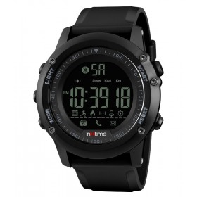 INTIME Smartwatch SW-V01, Pedometer, Remote Camera, αδιάβροχο- IN TIME