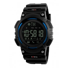 INTIME Smartwatch SW-V02, Pedometer, Remote Camera, αδιάβροχο- IN TIME