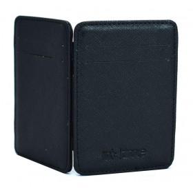 INTIME έξυπνο πορτοφόλι IT-013, RFID, PU leather, μαύρο- INTIME