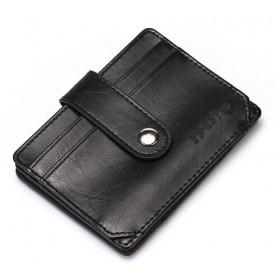 INTIME έξυπνο πορτοφόλι IT-015, RFID, PU leather, μαύρο- INTIME