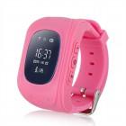 INTIME GPS Παιδικό ρολόι χειρός IT-026, SOS, βηματομετρητής, ροζ- INTIME