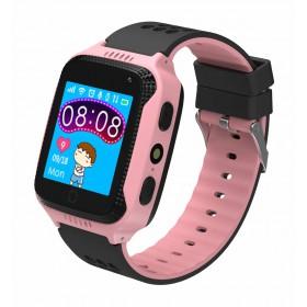 INTIME GPS Παιδικό ρολόι χειρός IT-027, SOS, βηματομετρητής, ροζ- INTIME