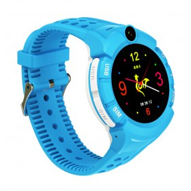 INTIME GPS Παιδικό ρολόι χειρός IT-029, SOS, βηματομετρητής, μπλε- INTIME