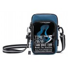 SUPER FIVE τσάντα ώμου K00110-BL, μπλε- SUPER FIVE