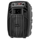 KRUGER&MATZ Φορητό ηχείο ΚΜ0554, bluetooth, USB, FM Radio, μαύρο- KRUGER&MΑΤΖ