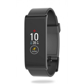 MYKRONOZ Smart Activity Tracker ZeFit4, έγχρωμη οθόνη, IP67, μαύρο- MYKRONOZ
