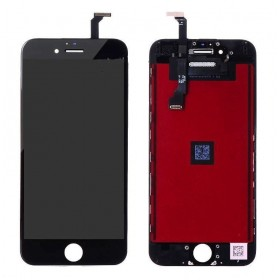 High Copy LCD για iPhone 6G, Premium Quality, Black- BULK