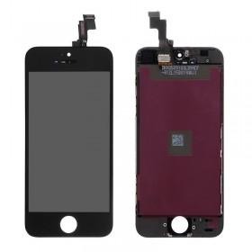 High Copy LCD για iPhone 5s, Premium Quality, Black- BULK