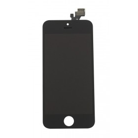 High Copy LCD για iPhone 5G, Premium Quality, Black- BULK
