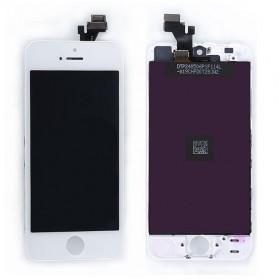 High Copy LCD για iPhone 5G, Premium Quality, White- BULK