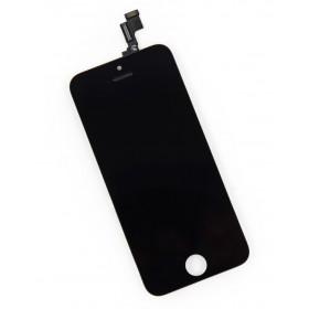 High Copy LCD για iPhone 5C, Premium Quality, Black- BULK