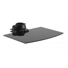 BRATECK ράφι στήριξης LP61-DVD για συσκευές προβολής, έως 5kg, μαύρη- BRATECK