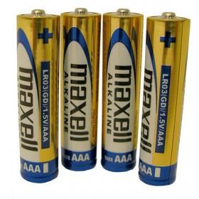 MAXELL Αλκαλικές μπαταρίες μεγέθους AAA- MAXELL - LR03-4PACK