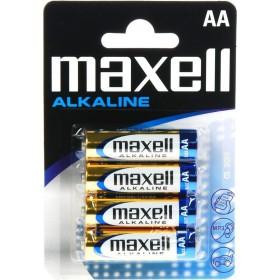 MAXELL Αλκαλικές μπαταρίες μεγέθους AA Συσκευασία μπλίστερ 4 τεμαχίων- MAXELL - LR6-4PACK