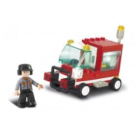 SLUBAN Τουβλάκια Town, Service Vehicle M38-B0180, 68τμχ- SLUBAN
