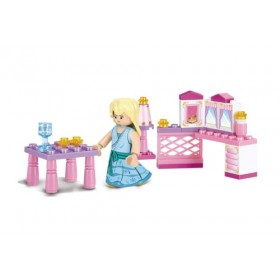 SLUBAN Τουβλάκια Girls Dream, Princess M38-B0238, 35τμχ- SLUBAN
