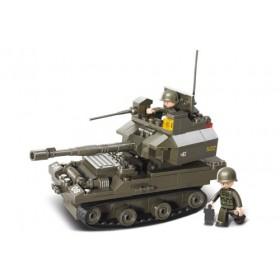 SLUBAN Τουβλάκια Army, Tank M38-B0282, 178τμχ- SLUBAN