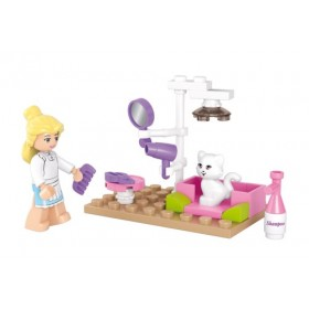 SLUBAN Τουβλάκια Girls Dream, Pet Salon M38-B0515, 30τμχ- SLUBAN