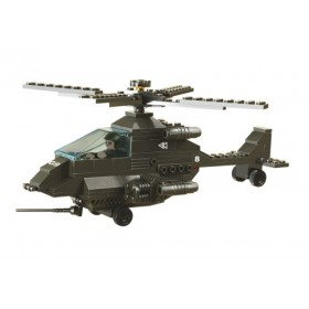 SLUBAN Τουβλάκια Army, Attack Helicopter M38-B6200, 158τμχ- SLUBAN