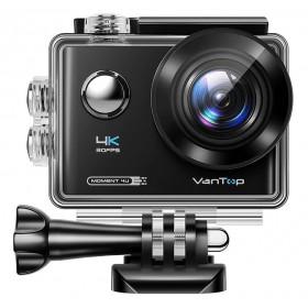 VANTOP action camera Μoment4U, 4K 30fps, 20MP, touch screen, μαύρη- VANTOP