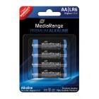 MediaRange Premium Αλκαλικές μπαταρίες τύπου AA (LR06)  - 4PACK- MediaRange - MRBAT104