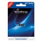 MediaRange Premium αλκαλική μπαταρία A27 / 6LR27 12V Pack 1- MEDIARANGE