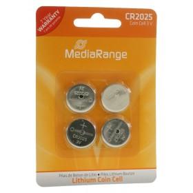 MediaRange Μπαταρία λιθίου 3v  CR2025 - Συσ.4 τεμ.- MediaRange - MRBAT131