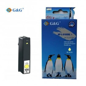G & G Συμβατό Lexmark 100 XL - YELLOW- G & G - NP-L-0100XL-Y