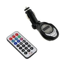 FM transmitter OG15 με remote control, LCD, SD, USB- UNBRANDED