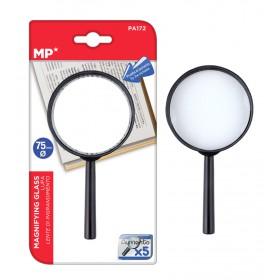MP μεγεθυντικός φακός PA172, x5, 75mm, μαύρος- MP