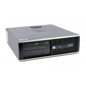 HP SQR PC 8300 Elite SFF, i5-3470, 4GB, 500GB HDD, DVD, Βαμμένο- HP