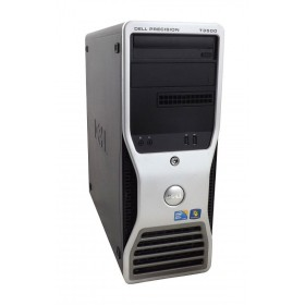 DELL SQR Workstation T3500, Xeon X5550, 6GB, 250GB HDD, DVD, Βαμμένο- DELL