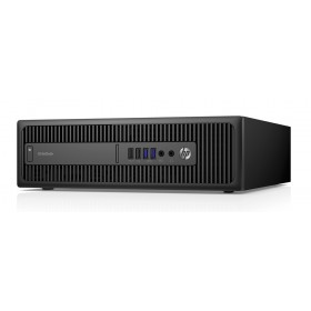 HP SQR PC Elitedesk 800 G1 SFF, i5-4570, 8GB, 240GB SSD, DVD-RW, Βαμμένο- HP