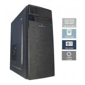 POWERTECH Έτοιμος Η/Υ, INTEL Pentium G4400, 4GB RAM, 500GB HDD, DVD-RW- POWERTECH