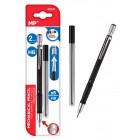 MP Mηχανικό μολύβι PE131, HB, 5x ανταλλακτικά, 2mm, 2τμχ- MP